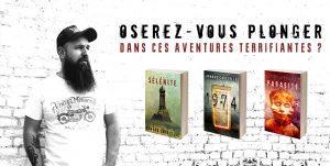 Arnaud CODEVILLE - roman horreur jeunesse